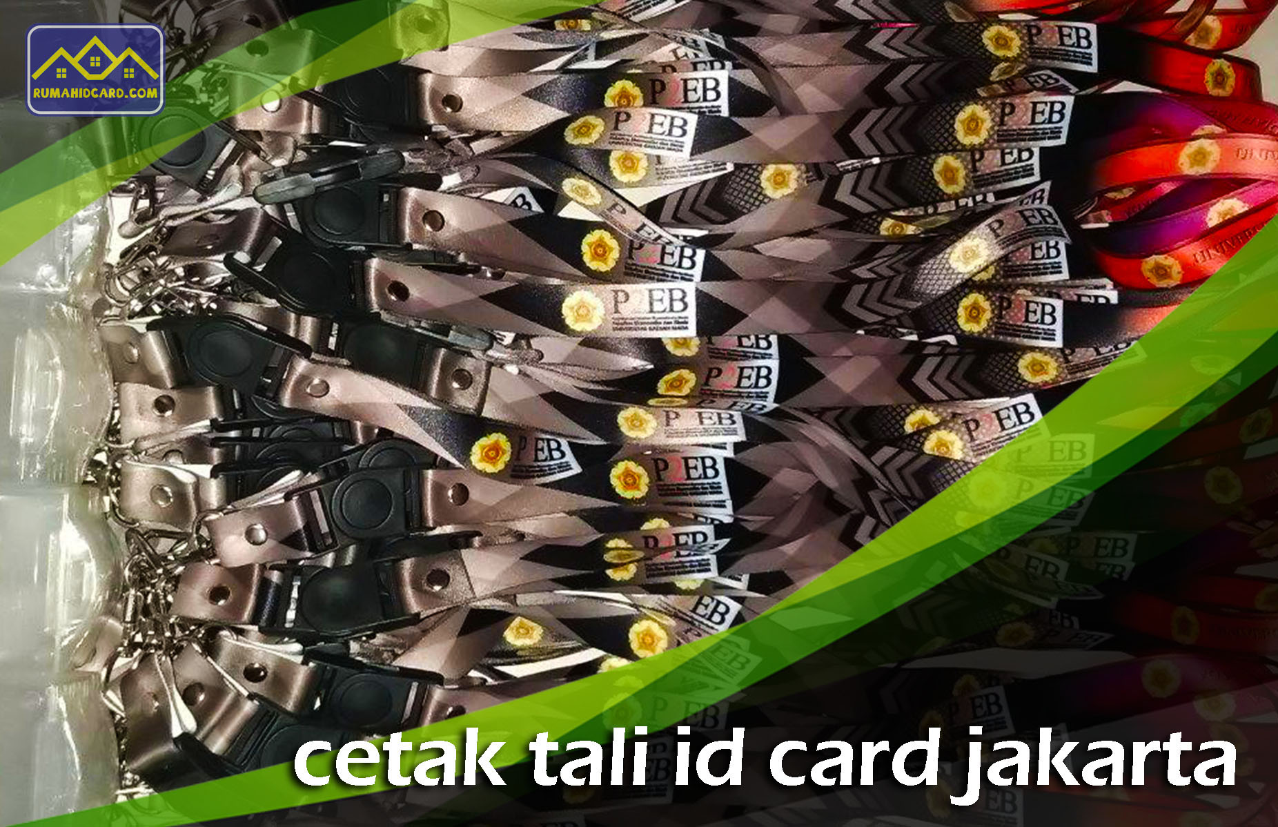 Cetak Tali ID Card Jakarta