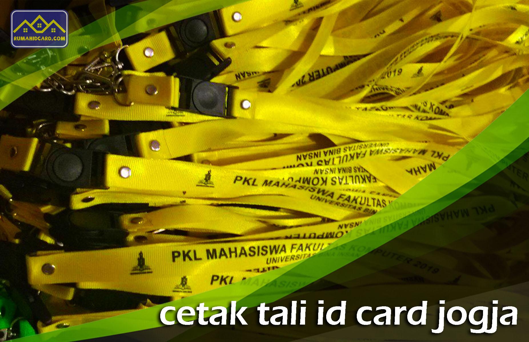 Cetak Tali ID Card Jogja