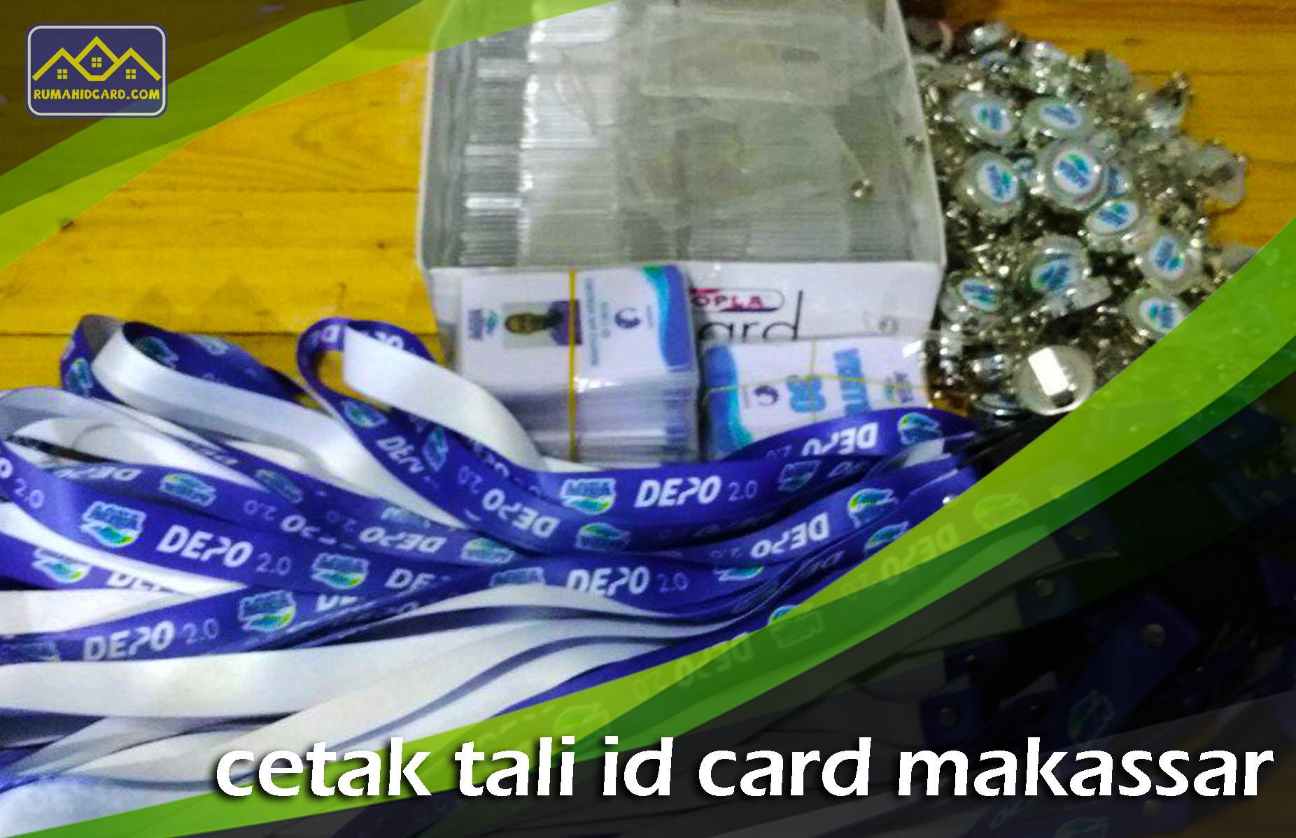 Cetak Tali Id Card Makassar