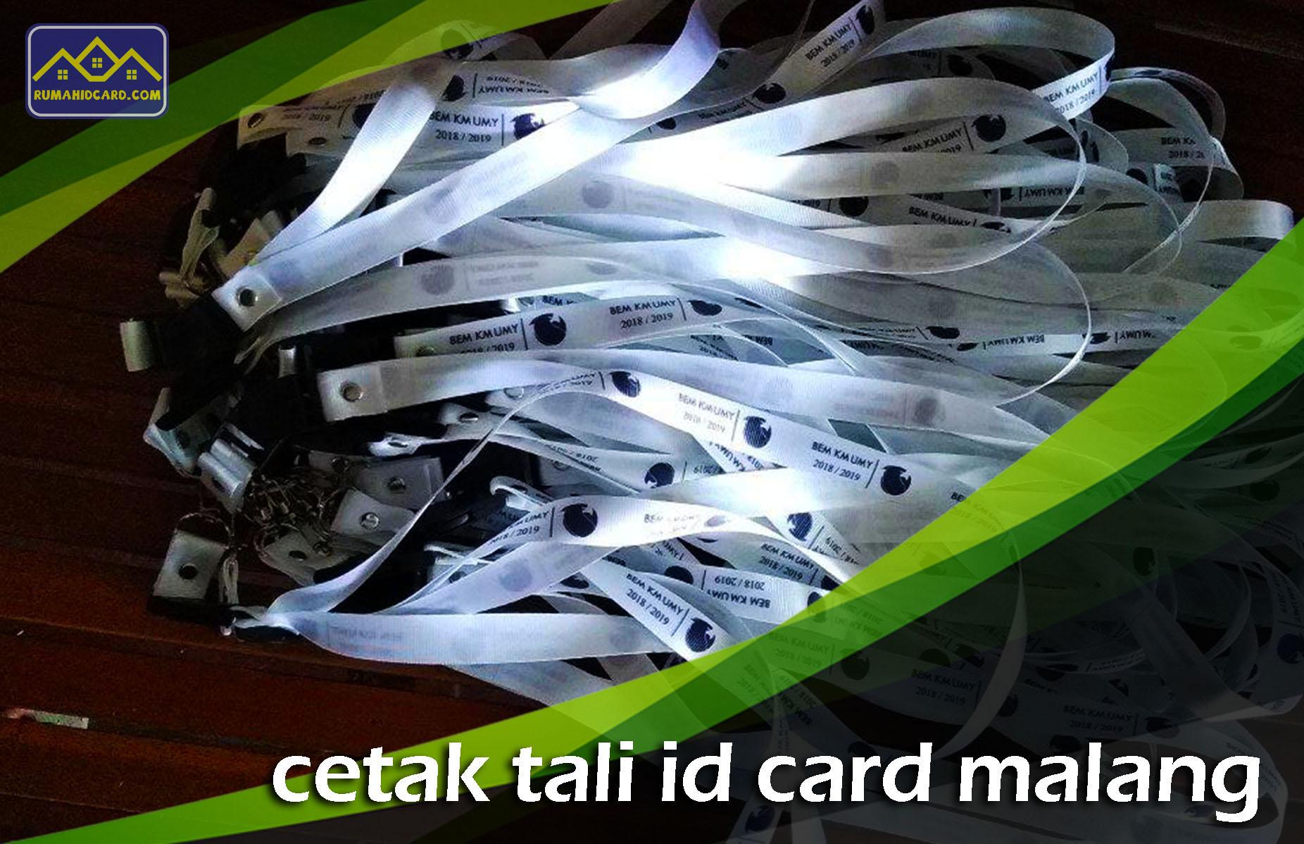 Cetak Tali ID Card Malang