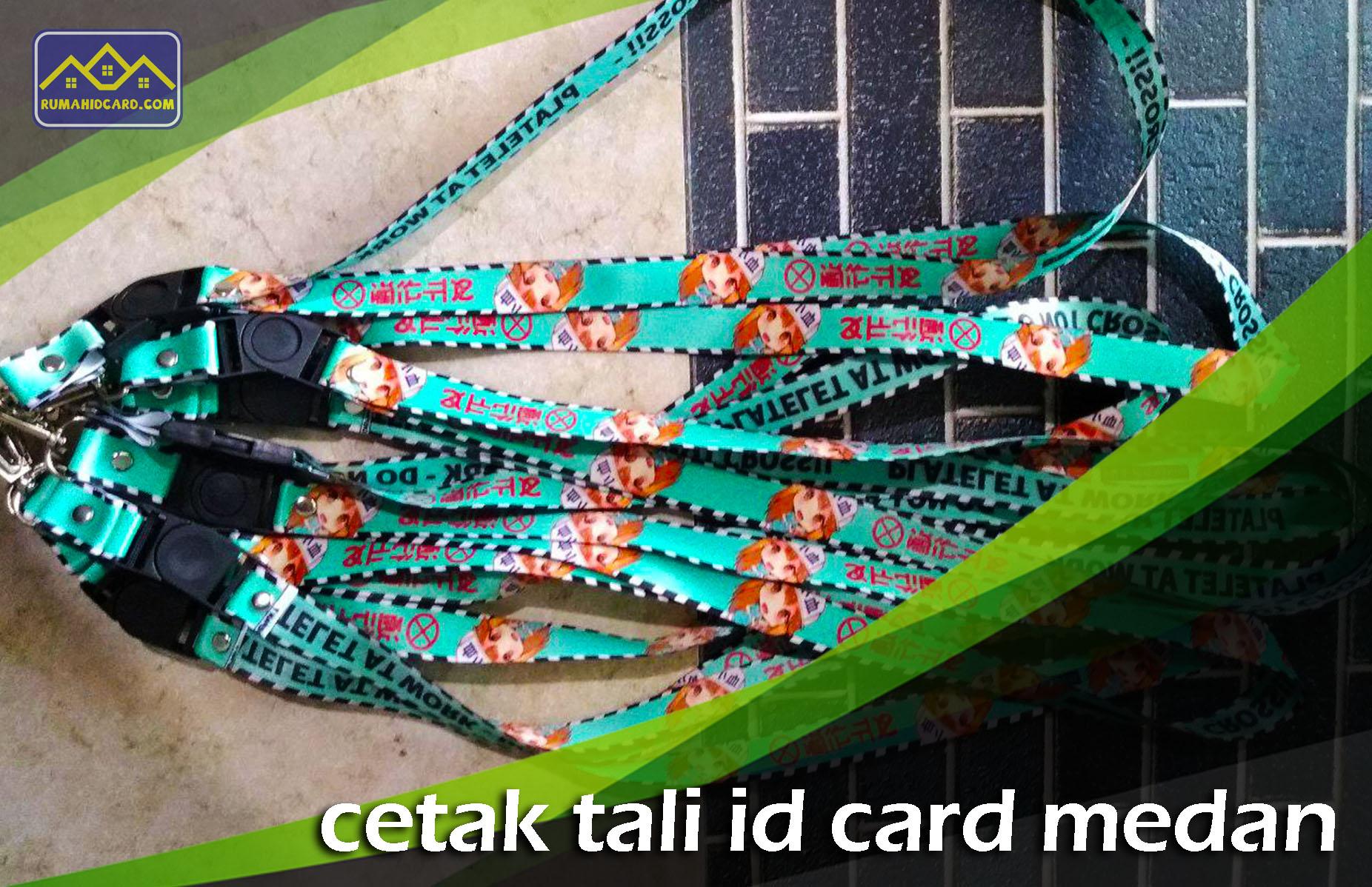 Cetak Tali ID Card Medan