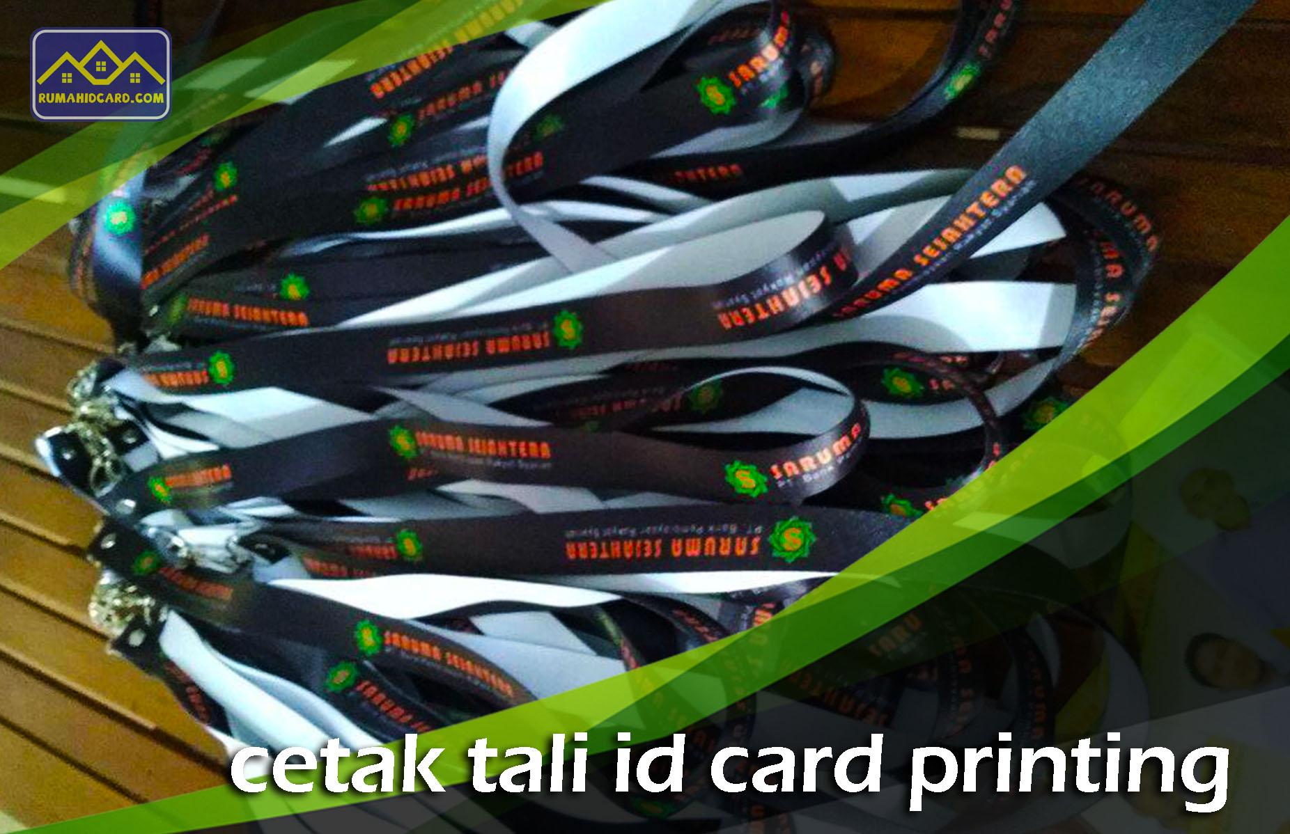 Cetak Tali ID Card Printing