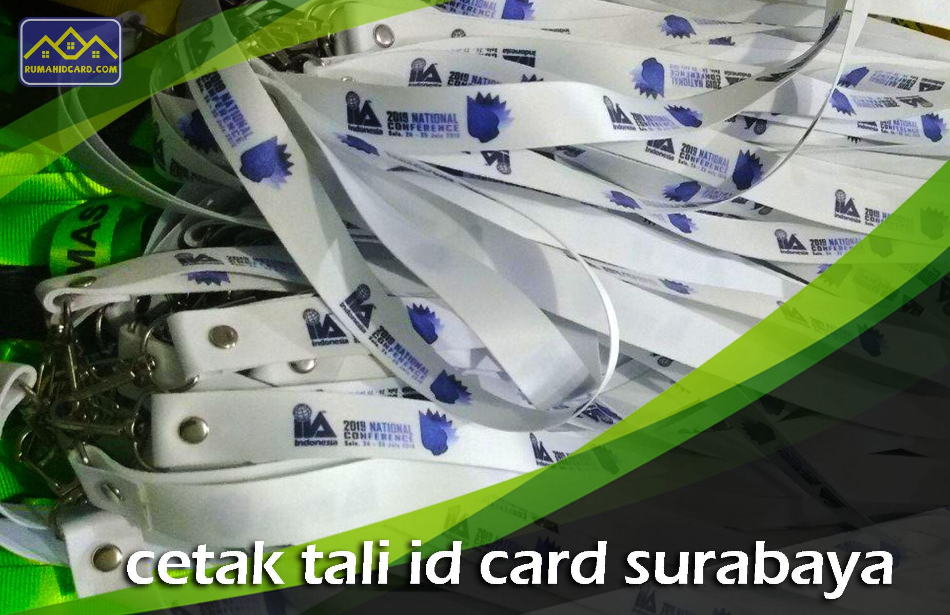 Cetak Tali ID Card Surabaya