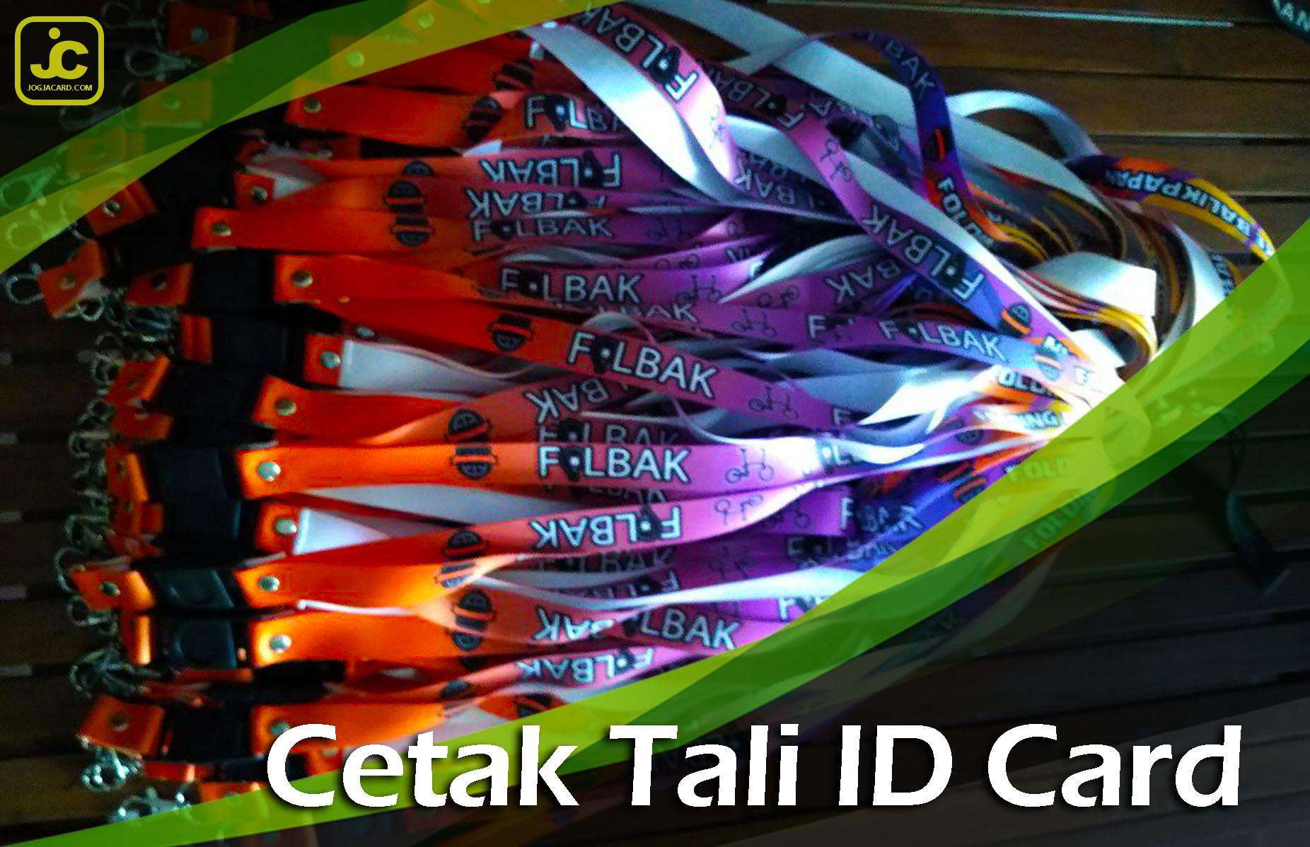 Cetak Tali ID Card