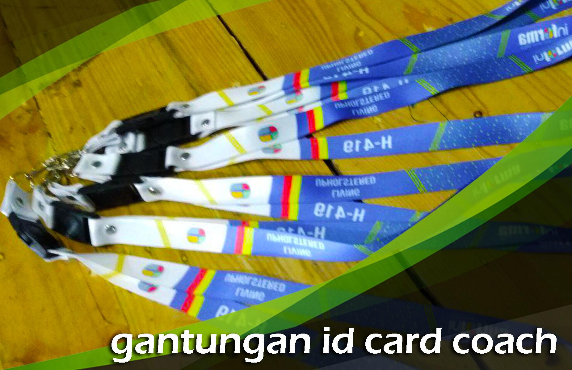 Gantungan ID Card Coach