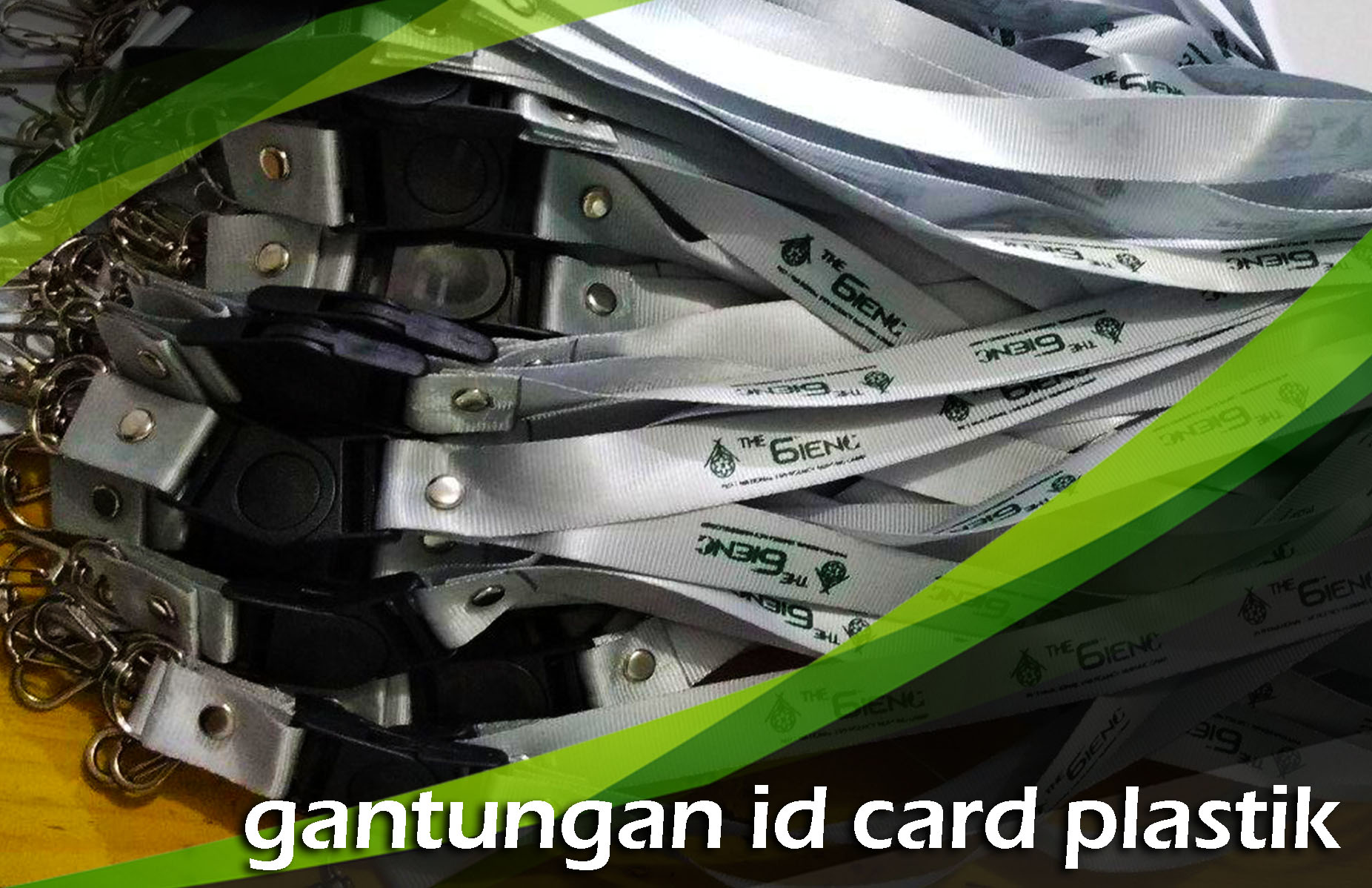 Gantungan ID Card Plastik