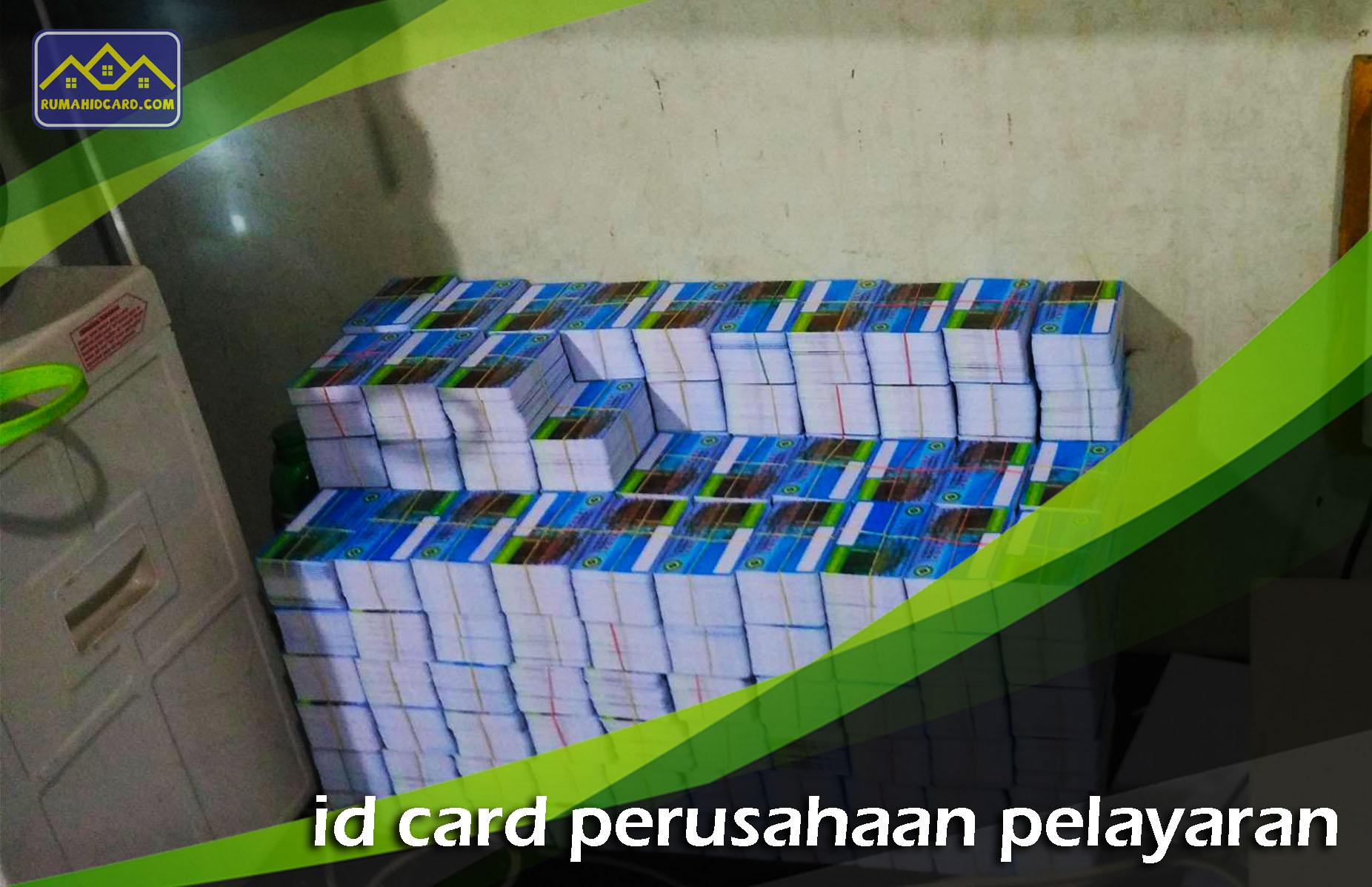 ID Card Perusahaan Pelayaran